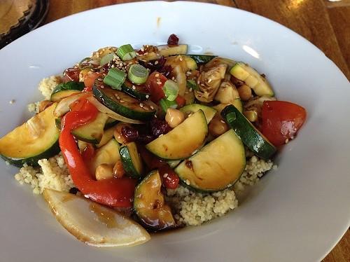 Vegetarian Couscous - AMANDA ROCK