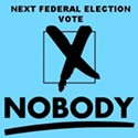 """Vote for Nobody"" Campaign Wants You To Stay Home Election Day"