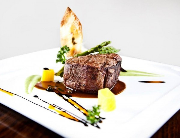 Vuz Restaurant's filet mignon