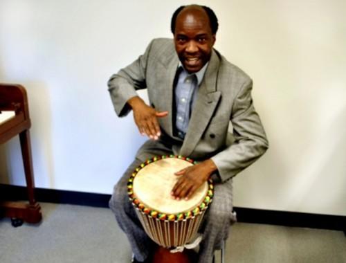 Weber State University professor David Akombo - RACHEL PIPER