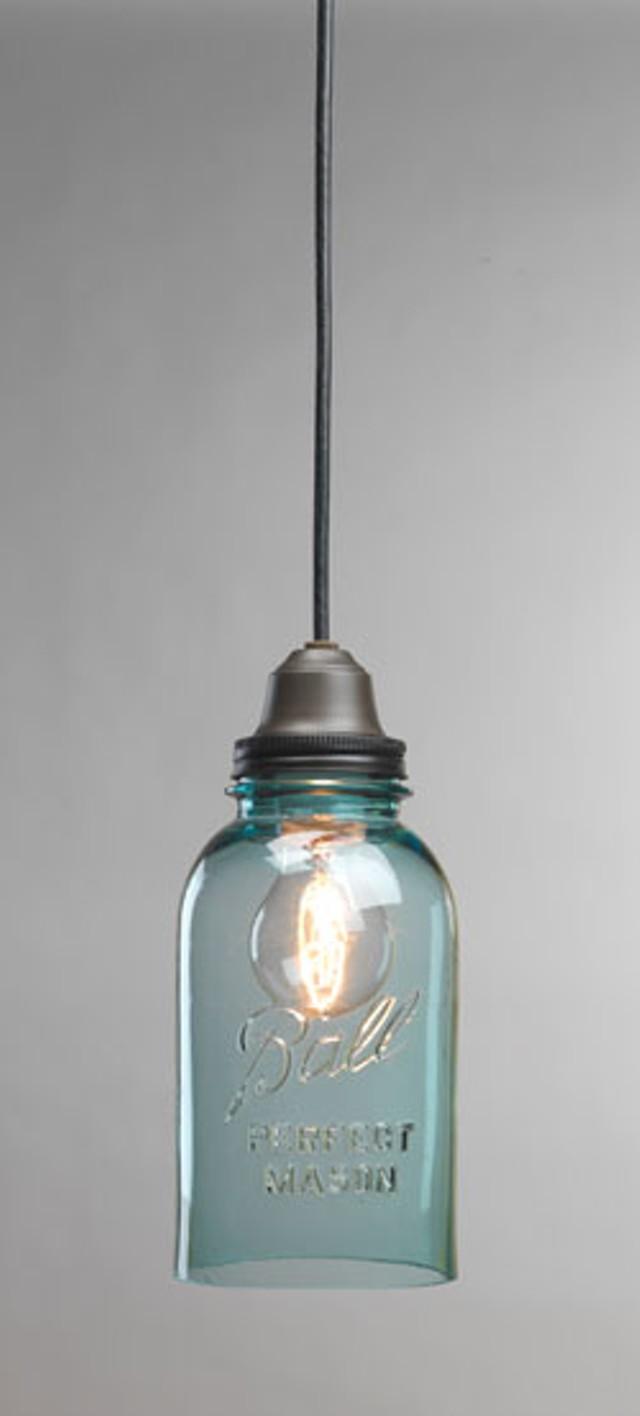 A Ball jar light