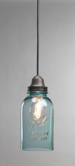 A Ball jar light