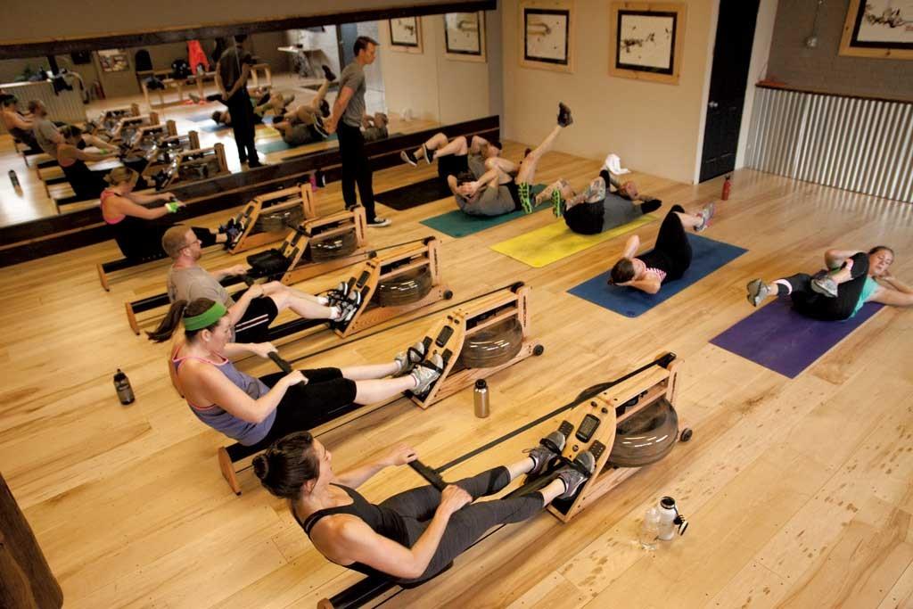 A class at Row VT - MATTHEW THORSEN