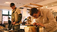 Iraq War Vets-Turned-Artists Transform Uniforms, and Lives