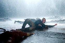 A highlight of World War Z: the tense, darkly funny scene on the rainy airport in South Korea - PARAMOUNT PICTURES