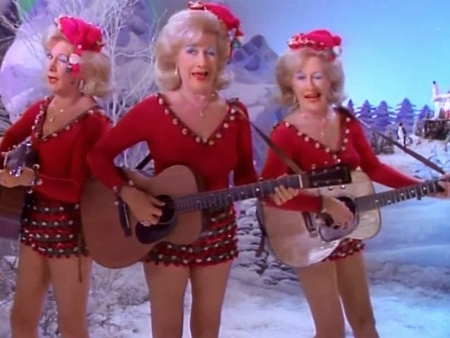 The Del Rubio Triplets, who appear in the special, actually played vaudeville shows in the first half of the 20th century. - IMAGE ENTERTAINMENT