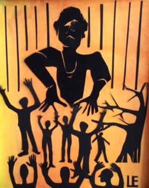 COURTESY OF MARTHA ELMES - A mixed-media work by Martha Elmes