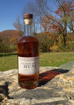 A new distillery in Warren has joined a handful of Vermont producers making rum. - COURTESY OF MAD RIVER DISTILLERY