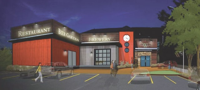 A rendering of Whetstone Station Restaurant & Brewery