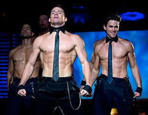 ABS YOU LIKE IT: Tatum displays his dance skills and other assets in Soderbergh's version of Cabaret.