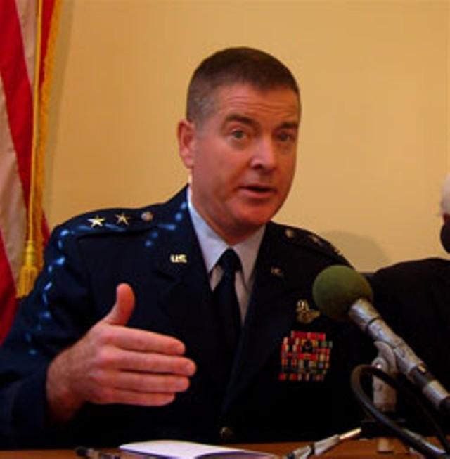 Adjutant Gen. Michael Dubie
