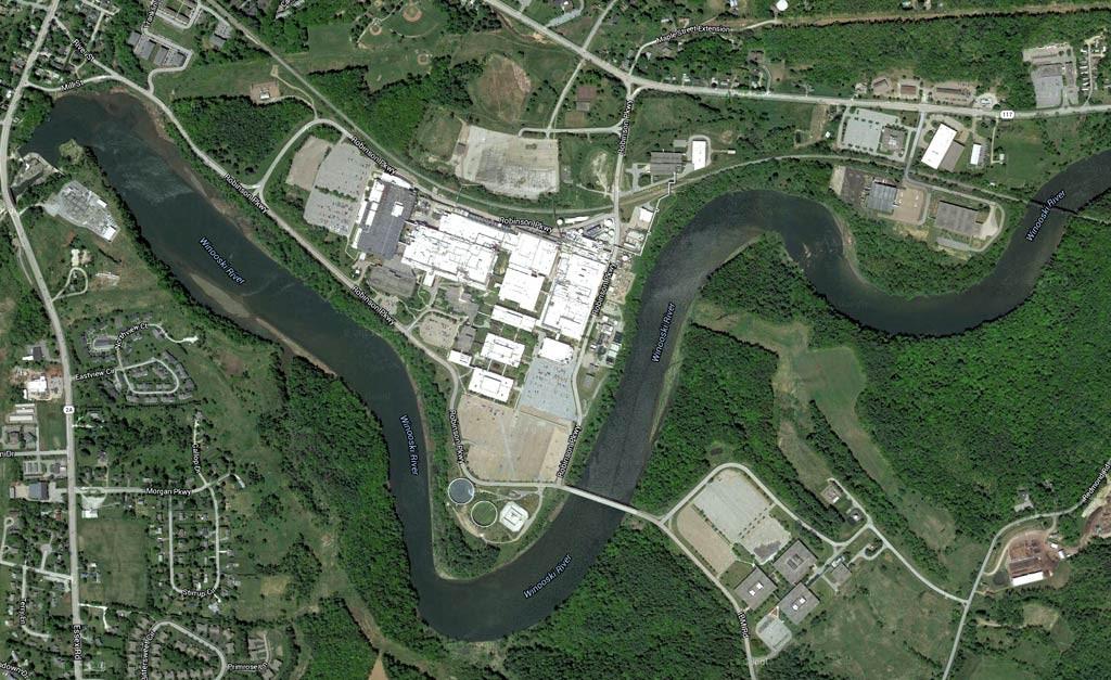 Aerial view of IBM - © GOOGLE MAPS