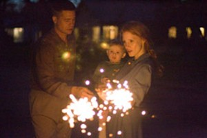AFTER THE FALL Pitt plays a dad trying to prepare his sons for what he believes is an irredeemably harsh world in Malick's fifth feature.