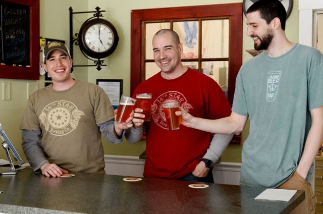 After winning Seven Days' Vermont Brew Bracket in April - FILE PHOTO: 14TH STAR BREWING