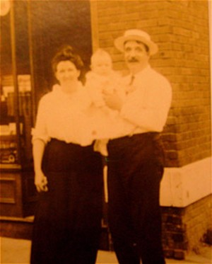"Agnes, Peter and James Francis ""Frank"" Freyne"