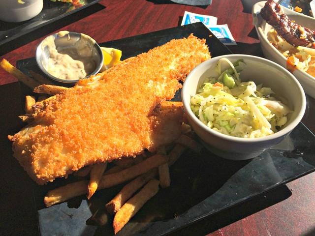 Fish and chips - ALICE LEVITT