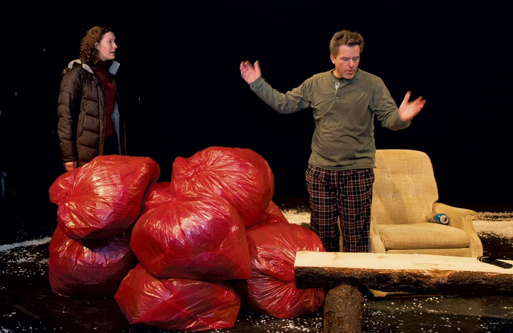Allison Fay Brown and Rob O'Leary - COURTESY OF JIM SCHLEY/PARISH PLAYERS