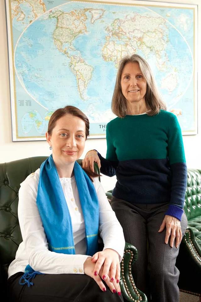 Amila Merdzanovic and Judy Scott - MATTHEW THORSEN