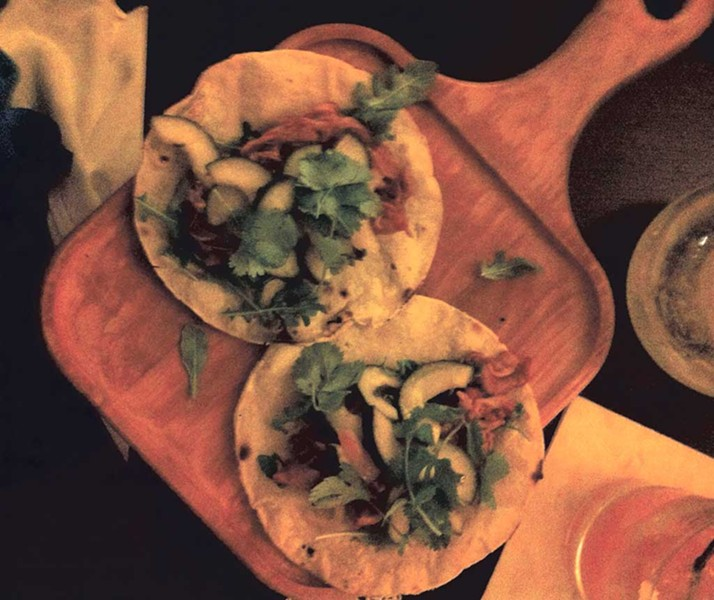 Angry chicken tacos at Antidote - COURTESY OF KATHRYN FLAGG