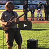 Aram Bedrosian's Solo Bass Version of the National Anthem