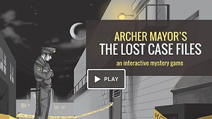 Archer Mayor's The Lost Case Files
