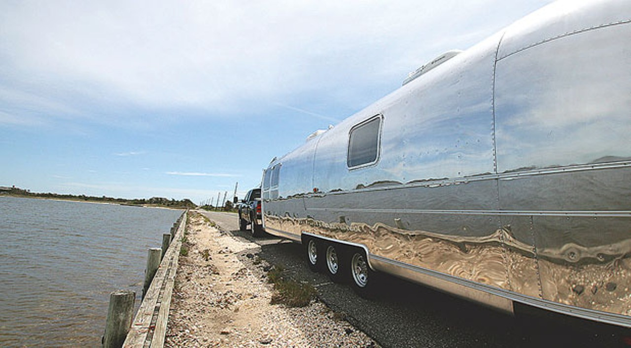 Plattsburgh's Nomad Airstream Is King of the Trailers