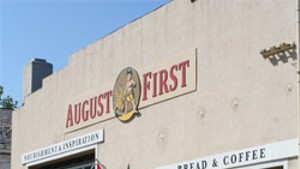 August First Takes Over Pistou Space