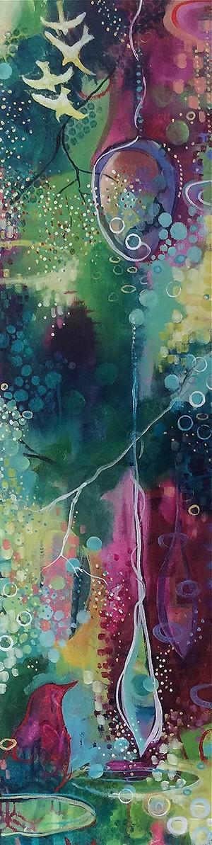 """COURTESY OF ART'S ALIVE - """"Awakening"""" by Emily Mitchell"""