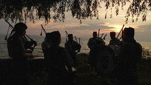 Bagpipes at the Boathouse [318]
