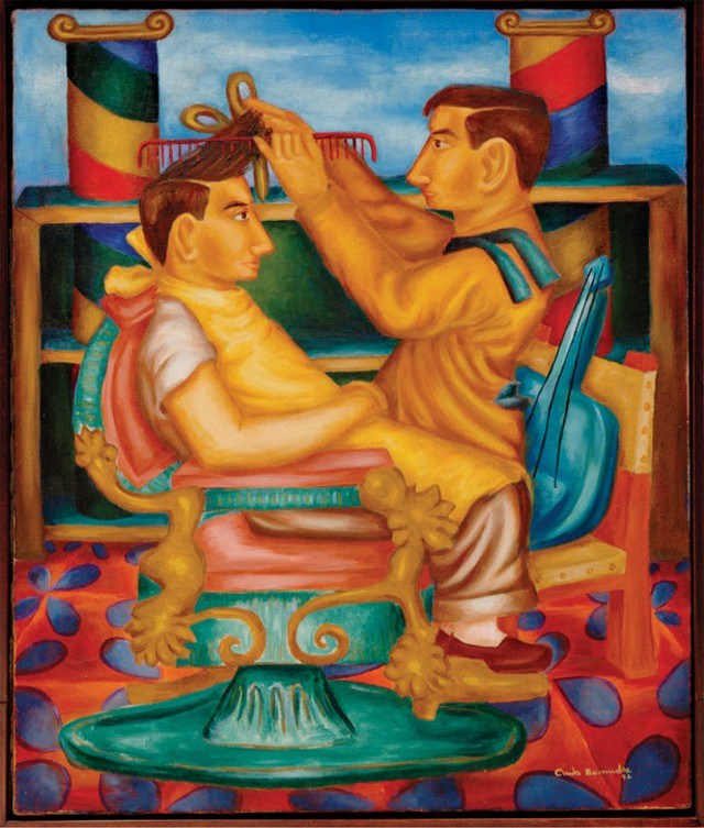 """Barberia (The Barber shop)"" By Cundo Bermudez"