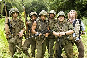 BATTLE FATIGUE Stiller's send-up of Vietnam war movies is heavy on tired clichés and light on laughs.