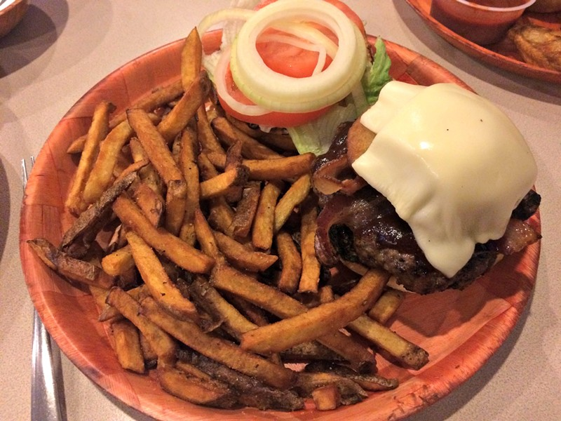 BBQ Burger, $9.95