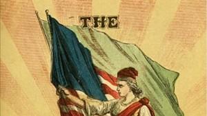 A propaganda poster for the Fenian Brotherhood
