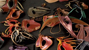 Behind the Masks of a Generator Artist-in-Residence