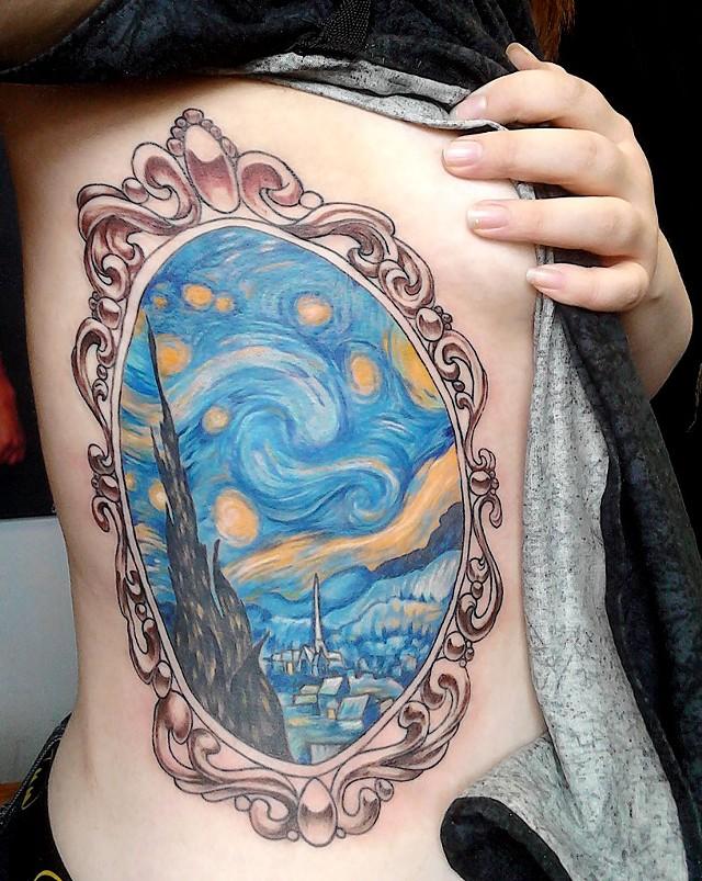 Best tattoo 2014 (Artist: Bruce Washburn of Washburn Tattoo in St. Johnsbury)