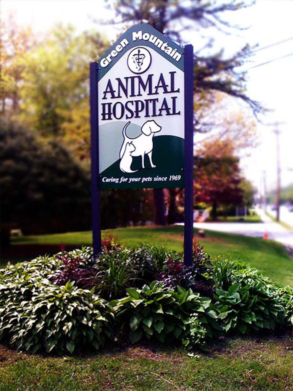 COURTESY OF GREEN MOUNTAIN ANIMAL HOSPITAL
