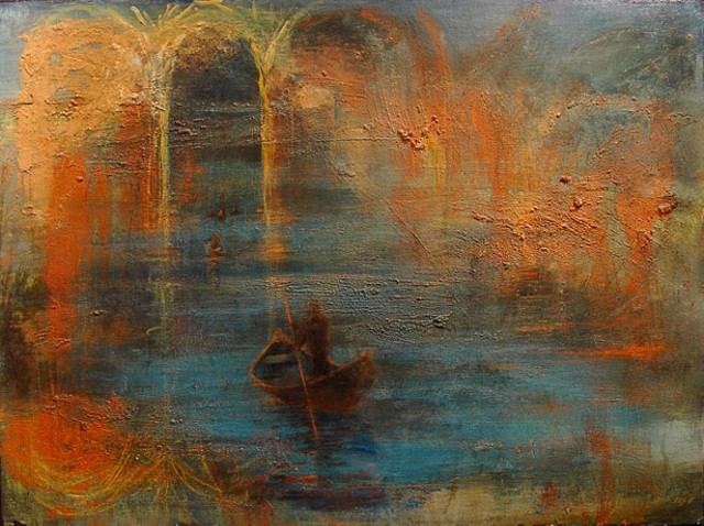 """""""Between Earth and Water"""" by Janet Fredericks"""