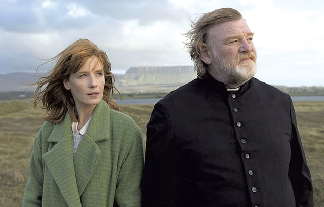 Beyond belief: Gleeson does some of the greatest work of his career as an Irish priest whose faith and commitment are tested by dark forces.