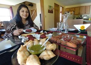 JEB WALLACE-BRODEUR - Bhavna Rauniyar at Curry & Spice