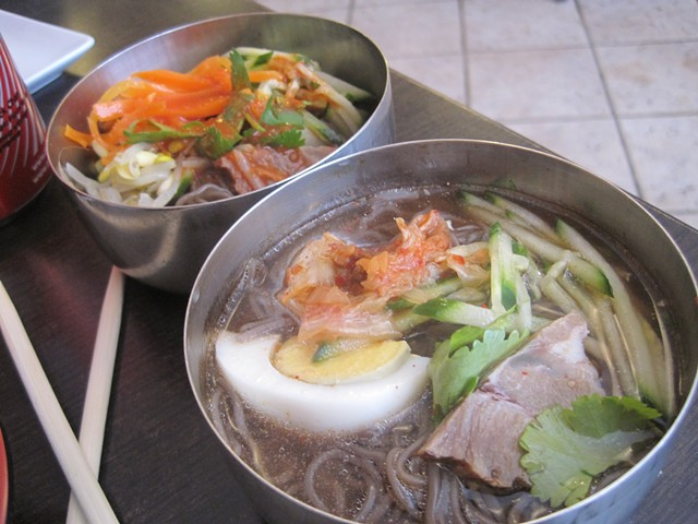 Bibim guksu and naeongmyun