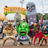 Big Nazo's Enormous Alien Puppets Invade Burlington's Festival of Fools