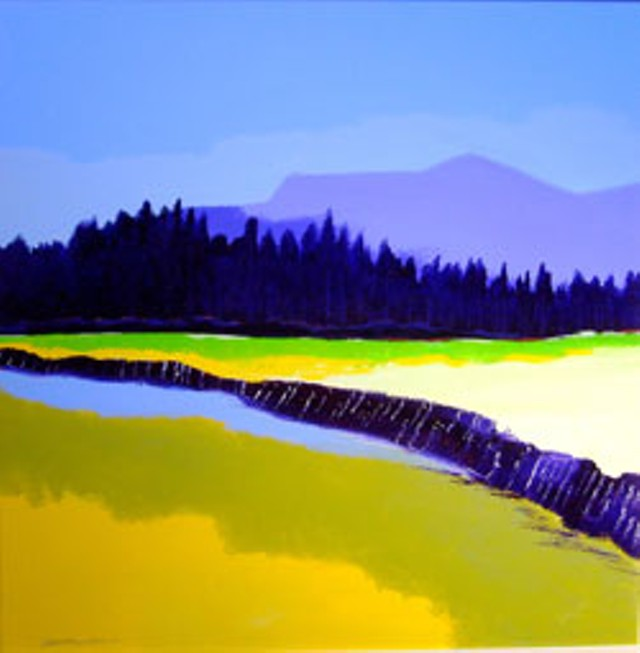 """Big River's Edge"" by Adrien ""Yellow"" Patenaude"