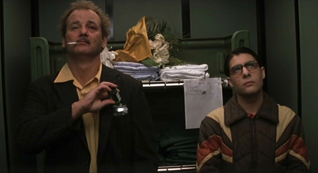Bill Murray and Jason Schwartzmann in Rushmore