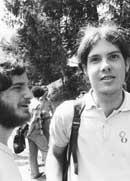 Bill Orleans, left, and Bob Johnson