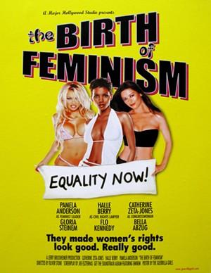 "GUERRILLA GIRLS - ""Birth of Feminism"""