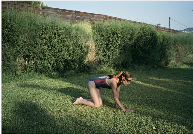 Blindfolds are popular in the backyard. - KINO LORBER