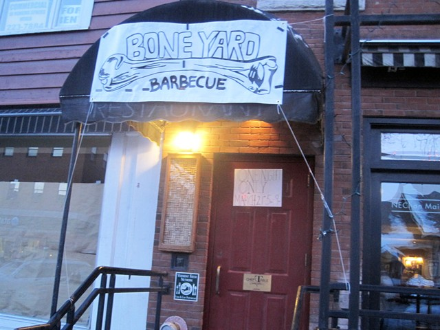 Bone Yard Barbecue takes over Chef's Table