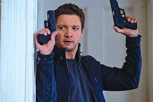 BOURNE THIS WAY With Bourne nowhere to be found, Renner demonstrates that he, too, can be lethal.
