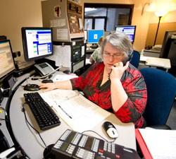 Brandi Barbeau, emergency communication specialist - ANDY DUBACK