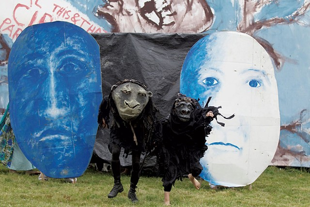 Bread and Puppet Theater - COURTESY OF BREAD AND PUPPET THEATER
